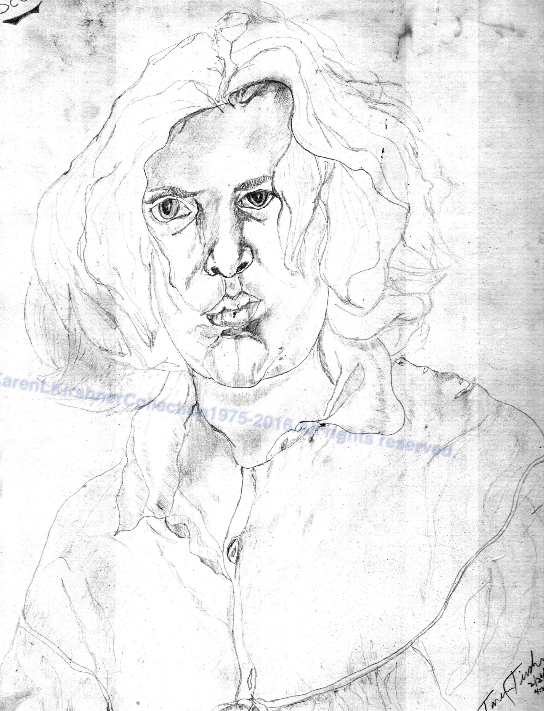 bbk etching of KAREN at Study copy